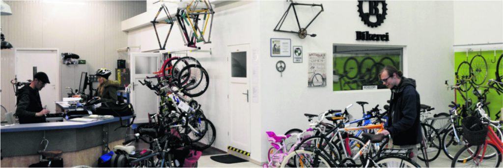 Bikerei: Fahrrad Schrauberei mit Großstadtflair Die Monatliche