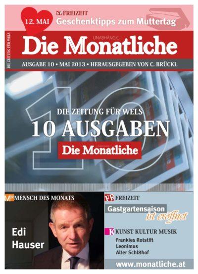 Die Monatliche – Ausgabe 10