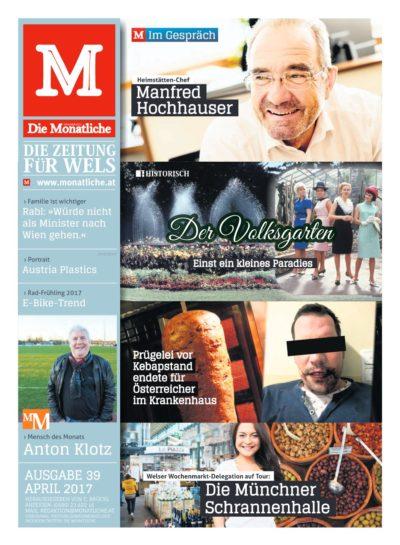 Die Monatliche – Ausgabe 39