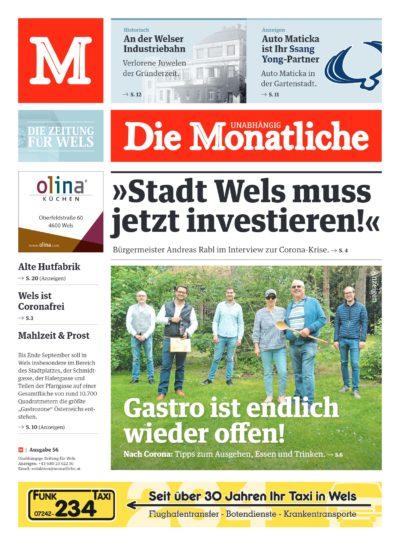 Die Monatliche – Ausgabe 56